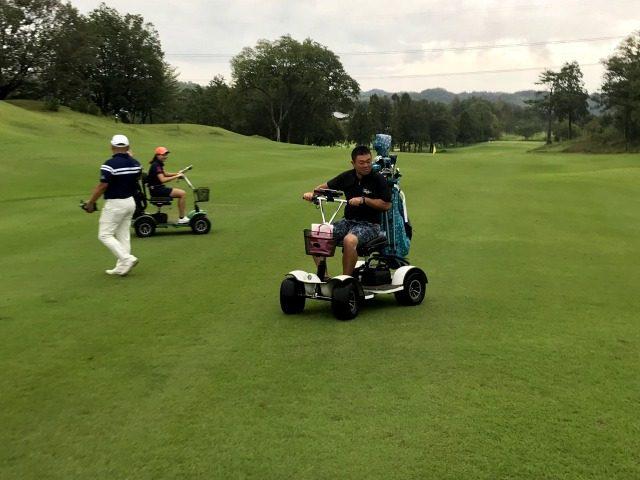 人 ゴルフ 1