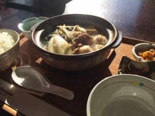 鴨鍋焼きうどん1