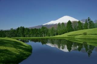 富士の杜GC逆さ富士