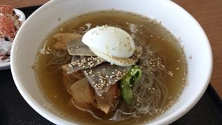 【ブログ用】冷麺アップ