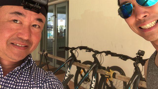 レオパレスリゾート サイクリング